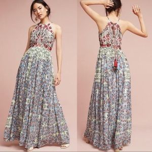 Bhanuni by Jvoti Floral Embroidered Dress